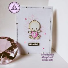 Clear Photopolymer New Baby Stamps New Baby Products, Stamps, Card Making, Baby Boy, Paper Crafts, Crafty, Boys, Cards, Design