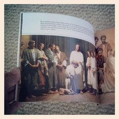 Jesus Christ picture book for kids. From His birth through resurrection.