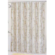Mainstays Bamboo Garden PEVA Shower Curtain