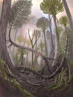 Victor O. Leshyk - Coal Forest