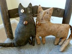 Look at these adorable kitties!!!  I wonder if I could MAKE something like this.....?!
