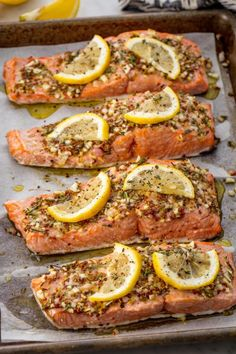 An extremely addicting and easy salmon recipe for your arsenal. Get the recipe from Delish. BUY NOW Calphalon Nonstick Bakeware, $30; amazon.com.