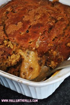 Frills in the Hills: Sunday baking project - self-saucing sticky date pudding