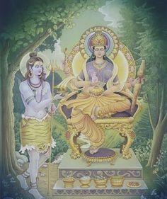Annapurna, the Hindu goddess of food and cooking.