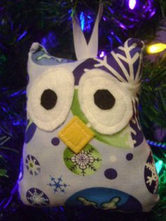 owl ornament.. this one is super cute