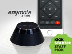 AnyMote turns your smartphone into the next generation universal remote! Control and automate your TV, computer, sound system, & more!