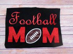 Football Mom shirt-Sports mom shirt-Football Mom-sports-sports mom-Football Mom tshirt-Gifts for mom - pinned by pin4etsy.com
