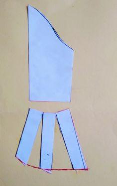 Sihblog - Modelagem e Costura - MOLDE VESTIDO COM MANGA Dress Sewing Tutorials, Sewing Blogs, Dress Sewing Patterns, Sewing Projects, Dressing Gown Pattern, Pattern Draping, Latest African Fashion Dresses, Abaya Fashion, Neck Pattern