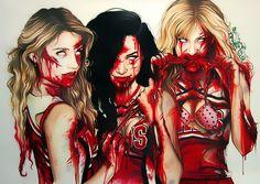 #zombies #zombie #cheerleaders