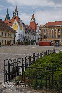 Timisoara - Trajan Square Macedonia, Albania, Slovenia, Continents, Countries, Cities, Skyline, Photo And Video, Mansions