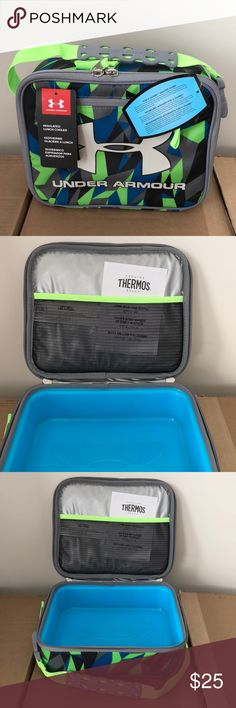 Under Armour Lunch Box Cooler BPA-Free Speed Lines Boutique  87efc0af1744d