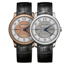 FP Journe Quaiteme Perpetuele duo.  This guy simply makes the most gorgeous watches in the world.