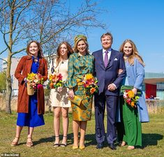 Smile And Wave, Kings Day, Dutch Royalty, Zara, Crisp White Shirt, Blue Coats, Queen Maxima, Royal House, Royals