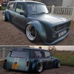 Weird Cars, Cool Cars, Custom Trucks, Custom Cars, Classic Trucks, Classic Cars, John Cooper Works, Mini Clubman, Fancy Cars