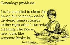 Genealogy...I think