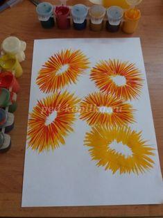 Как нарисовать цветы гуашью поэтапно с фото для детей 6-7 лет