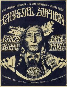 Crystal Syphon ....  Crazy Horse ....  and Sanpaku ....  January 21, 1969 ...  The date places this between BG 156 and BG 15 .... . Art by ...NORMAN ORR
