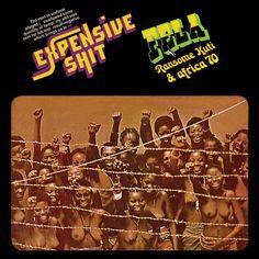 FELA KUTI Expensive Shit (1975) cover art