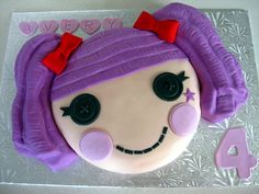 lalaloopsy peanut big top cake