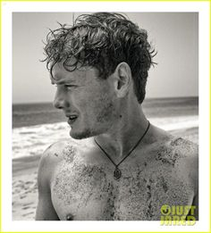 Anton Yelchin, Oh you have some dirt there, let me take care of that for you.
