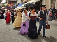 Vence carnival period costumes