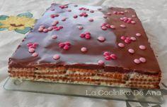 Tarta choco Vanilla Cake, Sweet Recipes, Tiramisu, Food And Drink, Chocolate, Ethnic Recipes, Desserts, Yum Yum, Calm