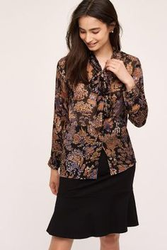 72b372ff0d2357 Shop new women's clothing at Anthropologie to discover your next favorite  closet staple. Jane Kawano · Pussybow Blouse