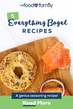 Make everything tasty and delicious with My Food and Family's everything bagel seasoning recipes. This everything bagel seasoning boasts great flavor. Cooking Bread, Cooking Recipes, Healthy Recipes, Top Recipes, Homemade Bagels, Bagel Recipe, Recipes Appetizers And Snacks, Homemade Seasonings, Bread Machine Recipes