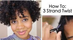 How To: 3 Strand Twist on Natural Hair by Toni of My Natural Sistas | Read on to see how I achieved this super defined 3 strand twist... |  #HairTutorials #HeatlessStyles #MyNaturalSistas #NaturalHair #Toni #TwistOut | http://www.mynaturalsistas.com/pretty-sistas/hair/how-to-3-strand-twist-on-natural-hair/