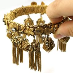 Vintage Tassel Bracelet by DeLillo