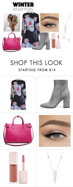 """""""WINTER essentials"""" by kathy-navarro on Polyvore featuring moda, Ted Baker, Burberry, Puma, Love Couture y Alex and Ani"""