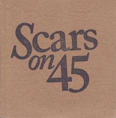 cover for the new EP by Scars on 45.