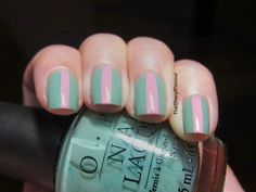 Simple Strip Nails