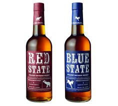 Red State / Blue State Straight Bourbon - Men's Health Mag - Father's Day Gifts