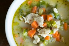 Recipe: Creamy Chicken Stew. This #stew is quickly prepared if you have cooked #chicken breasts on hand. Make it the night before and it'll be ready for breakfast.