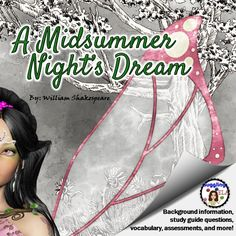 Everything you need to teach the play A Midsummer Night's Dream by William Shakespeare.