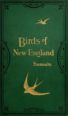 Birds of New England...Edward Samuels  1885