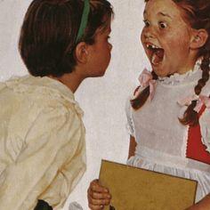 Norman Rockwell Checkup Vintage Art Print