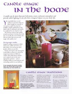 Candle Magic In The Home – Witches Of The Craft®