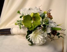 Silk Bride Bouquet Rustic Wedding Shabby Chic Bouquet | AmoreBride - Wedding on ArtFire