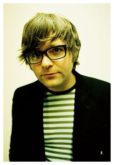 Ben Gibbard he's so handsome and I want him to serenade me every day!!!