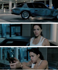 New Look At Michelle Rodriguez's Letty In Fast & Furious 6
