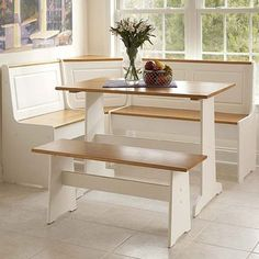 I pinned this 3 Piece Ardmore Breakfast Nook Set from the Linon event at Joss and Main! 290