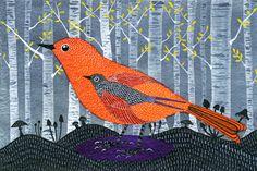 Watercolor print by Mexican artist Geninne D. Zlatkis www.etsy.com/shop/Geninne?ref=seller_info