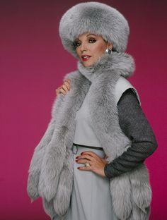 Alexis Carrington (Joan Collins) dans Dynastie (1981 - 1989)