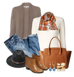 """""""Autumn Scarf"""" by cly88 ❤ liked on Polyvore featuring Rani Arabella, Chloé, J.Crew, Furla, Ashley Stewart, Warehouse, Étoile Isabel Marant, Belk & Co., scarf and outfitonly"""