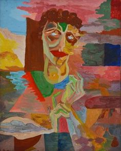 Flávio de Carvalho – Retrato de Berta Singeman - Coleção da Fundação Edson Queiroz