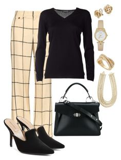 """""""Not So Casual Friday"""" by sommer-reign ❤ liked on Polyvore featuring Chloé, Snobby Sheep, Alberta Ferretti, Proenza Schouler, Kate Spade, Wrapped In Love, BCBGMAXAZRIA and Blue Nile"""