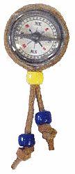 Compass Neckerchief Slide--good for awarding Webelos with their compass patch.