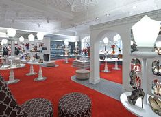 Christian Louboutin store by Lee Broom at Harrods London 02
